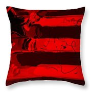 Max Stars And Stripes In Red Throw Pillow