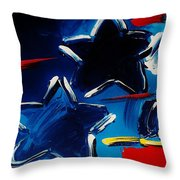 Max Two Stars Throw Pillow