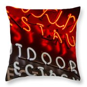 Maximilians In Seattle Throw Pillow