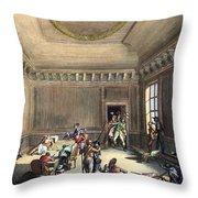 Maximilien Robespierre (1758-1794) Throw Pillow