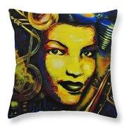Maxine Sullivan Throw Pillow