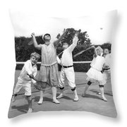 May Bundy And Her Proteges Throw Pillow