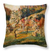 May In The Mountains Throw Pillow