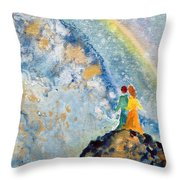 May Our Sight Throw Pillow