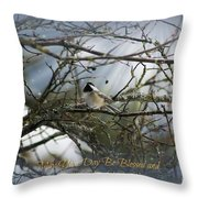 May Your Day Be Blessed Throw Pillow