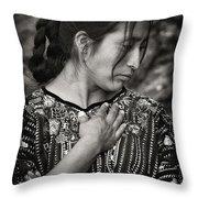 Mayan Beauty Throw Pillow