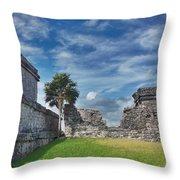 Mayan Memories Throw Pillow