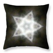 Mayan Star Throw Pillow