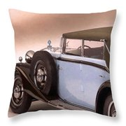 Maybach Car 5 Throw Pillow