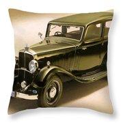 Maybach Car 6 Throw Pillow