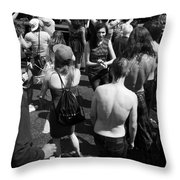 Maybe Answers Throw Pillow