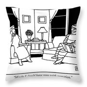 Maybe I Should Have Gone With Cremation Throw Pillow