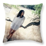 Maybe I'm Dreaming Throw Pillow