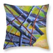 Mayday In September Throw Pillow