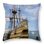 Mayflower II Throw Pillow