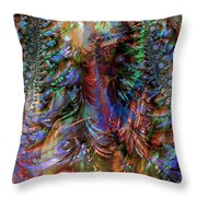 Mayhem And Madness Throw Pillow
