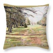 Maymont Landscape Throw Pillow