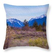 Mazama From Wolf Creek Throw Pillow