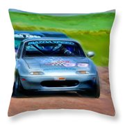 Mazda Speed Throw Pillow