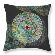 Maze You Cant Get There From Here Throw Pillow