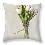 Mazzo Throw Pillow by Priska Wettstein