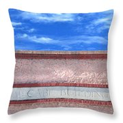 Mccabe Building Throw Pillow