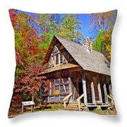 Mccall Cabin Throw Pillow