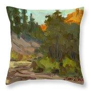 Mcclary Art Farm Throw Pillow