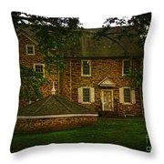 Mcconkey's Ferry Inn Throw Pillow