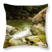 Mcconnells Mills Rocks 3 Throw Pillow
