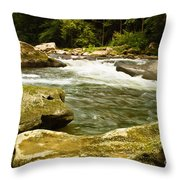 Mcconnells Mills Rocks 4 Throw Pillow