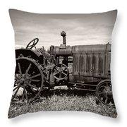 Mccormick Deering 15-30 Throw Pillow