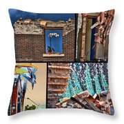 Mcdaid Collage Throw Pillow