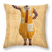 Mcdonald's Throw Pillow