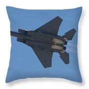 Mcdonnell Douglas F 15e Strike Eagle 2 Throw Pillow