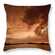 Mciver Lake Throw Pillow