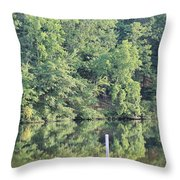 Mckamey Lake Serenity Throw Pillow