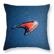 Mclaren Emblem -0247c45 Throw Pillow