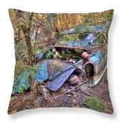 Mcleans Auto Wrecker - 10 Throw Pillow