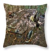 Mcleans Auto Wrecker - 12 Throw Pillow