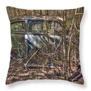 Mcleans Auto Wrecker -13 Throw Pillow