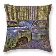 Mcleans Auto Wrecker - 3 Throw Pillow