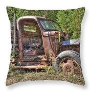 Mcleans Auto Wrecker - 6 Throw Pillow
