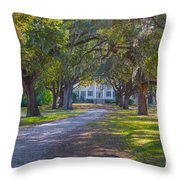 Mcleod Plantation Throw Pillow