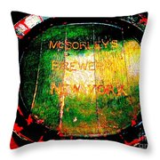 Mcsorleys Brewery Throw Pillow