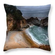Mcway Falls Throw Pillow