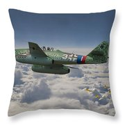 Me 262 - Stormbird Throw Pillow