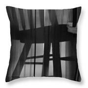Me And My Invisible Friend Throw Pillow by Luke Moore