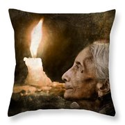 Me And My Loneliness Throw Pillow