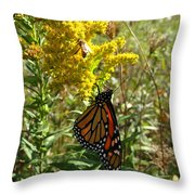 Me And The Bee Throw Pillow